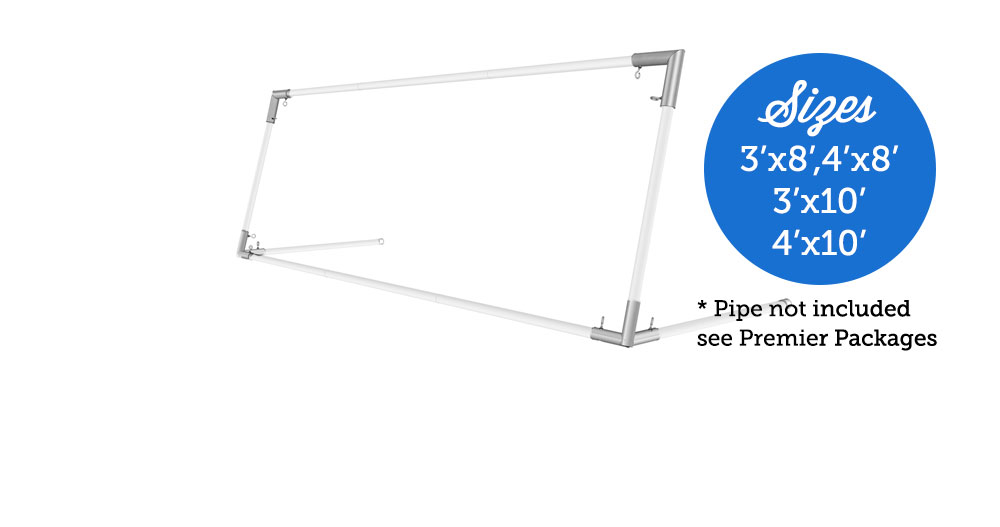 3x8 Front Wall Basic Package
