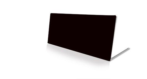 4x10 Black Fabric